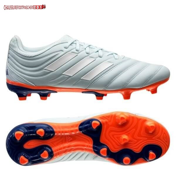 Adidas Chaussure De Foot Copa 20.3 FG/AG Glory Hunter Bleu Blanc Orange