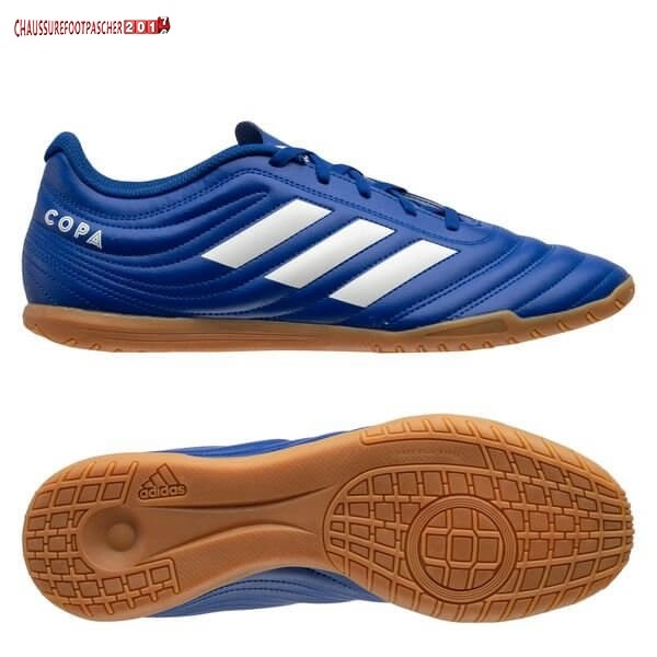 Adidas Chaussure De Foot Copa 20.4 IN Inflight Royal Bleu Blanc