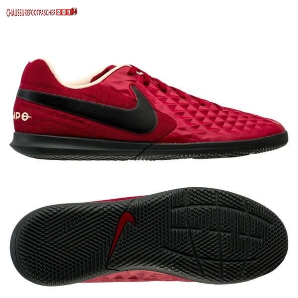 Nike Chaussure De Foot Tiempo Legend 8 Club IC Play Mode Rouge Noir Blanc