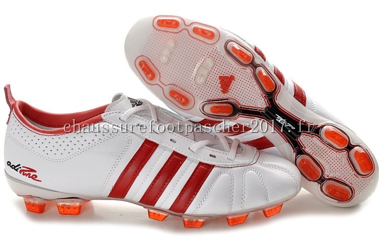 Adidas Chaussure De Foot AdiPure 11Pro IV FG Blanc Rouge