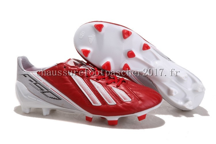 Adidas F50 Blanccfpc811 Chaussure Messi Fg De Foot Rouge bYf76gy