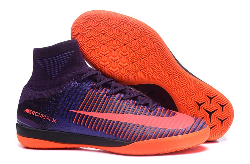 Nike Chaussure De Foot MagistaX Proximo II INIC Pourpre Orange
