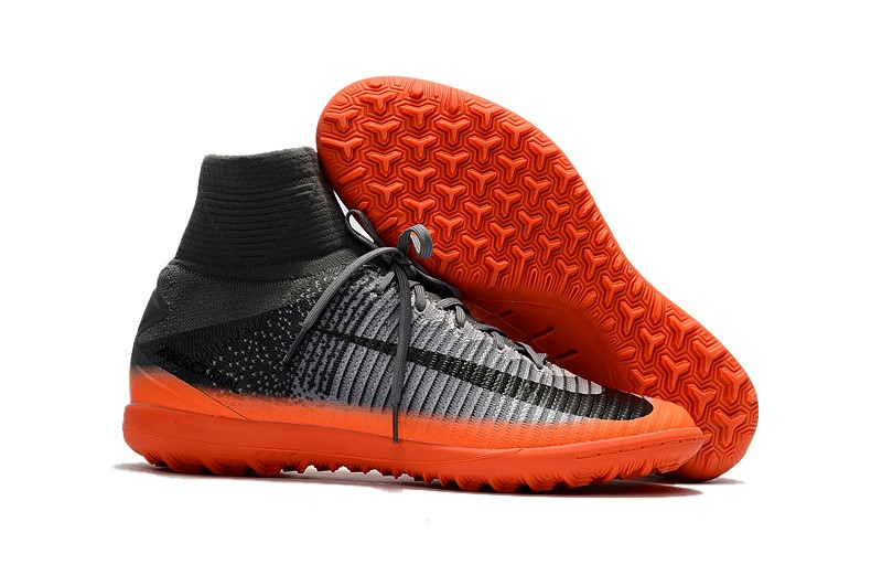 Nike Chaussure De Foot Mercurial Superfly V TF Noir Orange