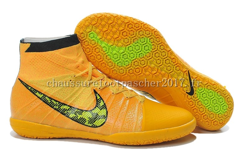 Nike Chaussure De Foot Elastico Superfly INIC Jaune Noir