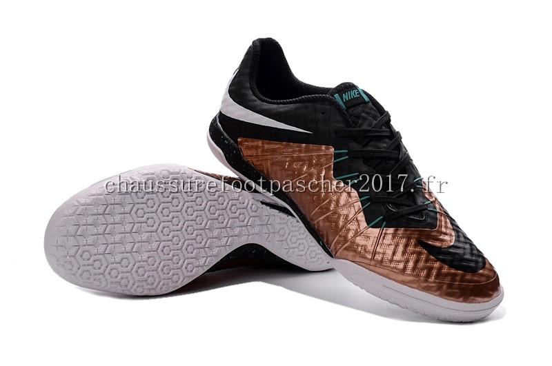 check out 29d5c 5379f ... Nike Chaussure De Foot HyperVenomX Finale INIC Noir Doré Blanc ...
