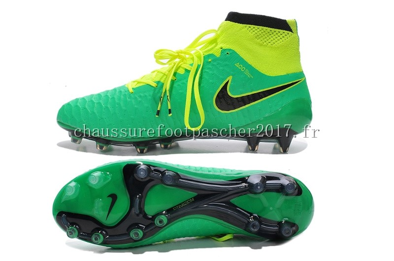 chaussure foot nike fluo