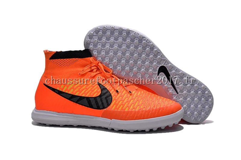 Nike Chaussure De Foot MagistaX Proximo TF Orange Noir