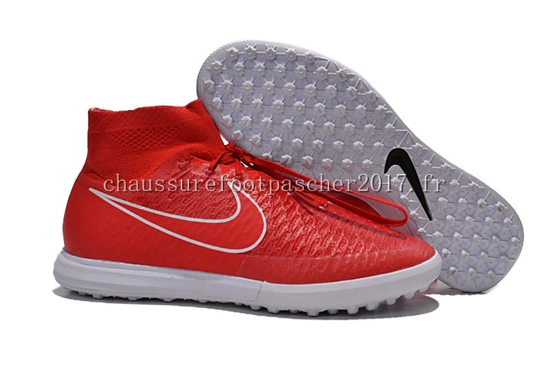 Nike Chaussure De Foot MagistaX Proximo TF Rouge