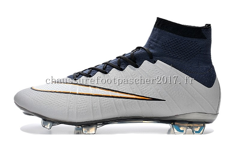nike chaussure de foot mercurial superfly cr7 enfants fg gris blanc chaussure de foot nike. Black Bedroom Furniture Sets. Home Design Ideas