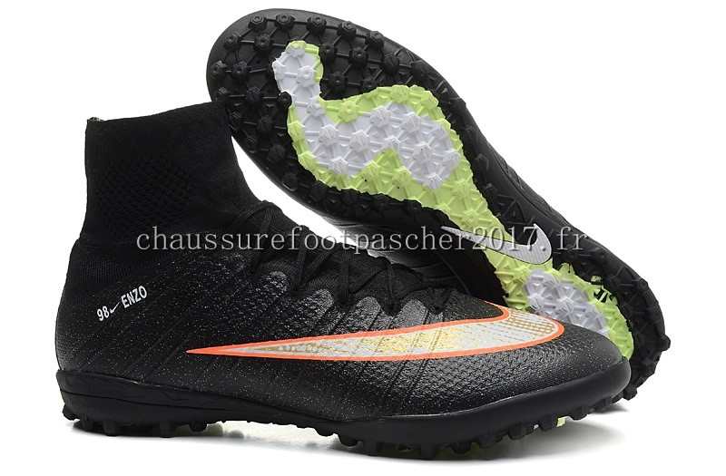 Nike Chaussure De Foot Mercurial Superfly CR7 TF Noir Orange