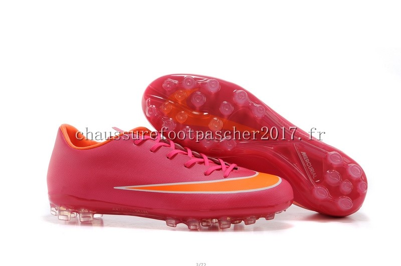 Nike Chaussure De Foot Mercurial X Vapor AG Rose Orange