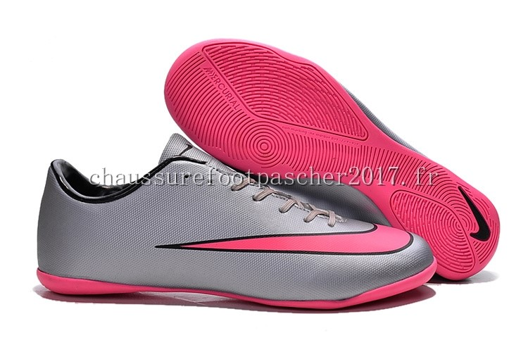 Nike Chaussure De Foot Mercurial X Victory INIC Gris Rouge