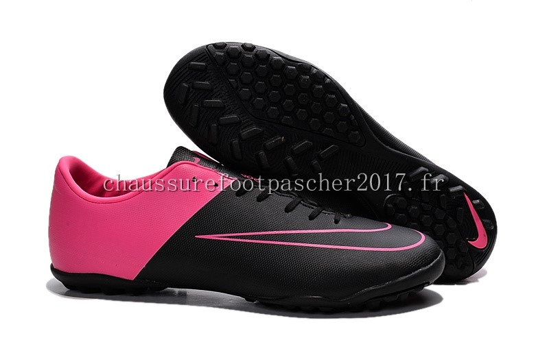 Nike Chaussure De Foot Mercurial X Victory TF Rouge Noir