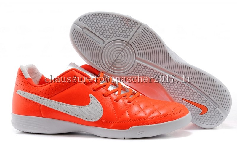 Nike Chaussure De Foot Tiempo Mystic V INIC Rouge Blanc