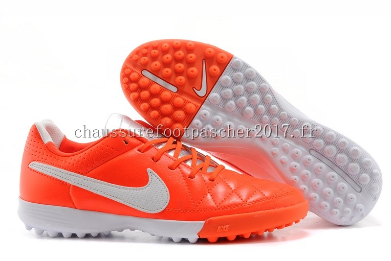 Nike Chaussure De Foot Tiempo Mystic V TF Rouge Blanc